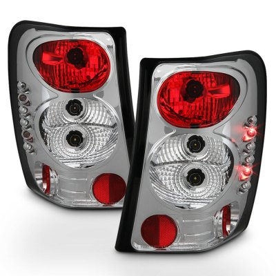 Jeep Grand Cherokee 1999-2004 Clear Altezza Tail Lights