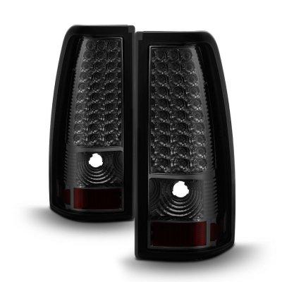 GMC Sierra 1999-2006 Smoked LED Tail Lights