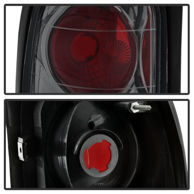 Dodge Ram 3500 1994-2002 Smoked Altezza Tail Lights