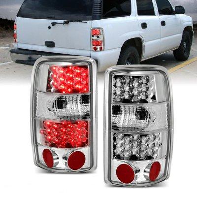 GMC Yukon 2000-2006 Clear LED Tail Lights