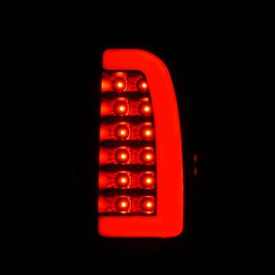 Toyota Tacoma 1995-2000 Black Smoked LED Tail Lights Tube