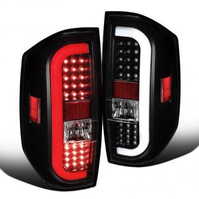 Toyota Tundra 2014-2021 Black LED Tail Lights Tube