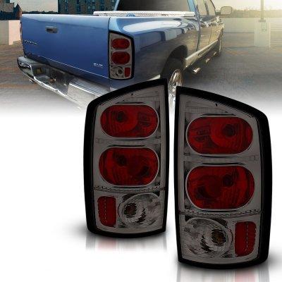 Dodge Ram 3500 2003-2005 Smoked Custom Tail Lights