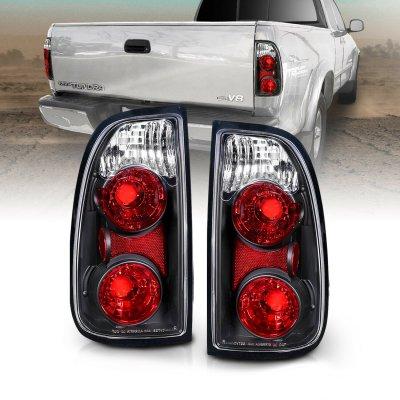 Toyota Tundra 2000-2004 Black Custom Tail Lights