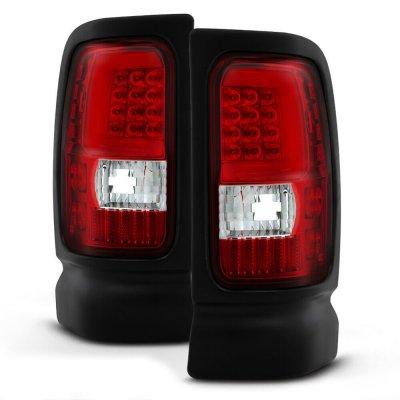 Dodge Ram 2500 1994-2002 Tube LED Tail Lights