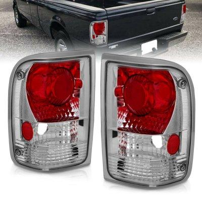 Ford Ranger 1993-1997 Chrome Custom Tail Lights