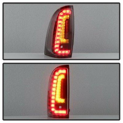 Toyota Tacoma 2005-2015 Black LED Tail Lights