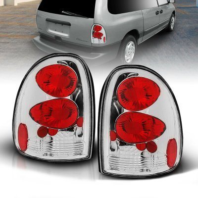 Chrysler Town and Country 1996-2000 Chrome Custom Tail Lights