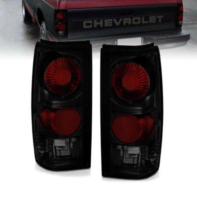 GMC Sonoma 1991-1993 Dark Smoked Altezza Tail Lights