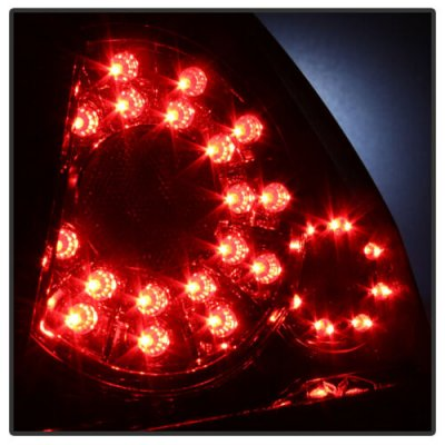 Chevy Impala 2006-2013 Smoked LED Tail Lights