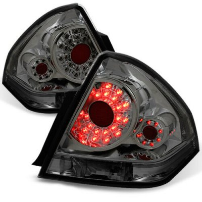 Chevy Impala Limited 2014-2016 Smoked LED Tail Lights