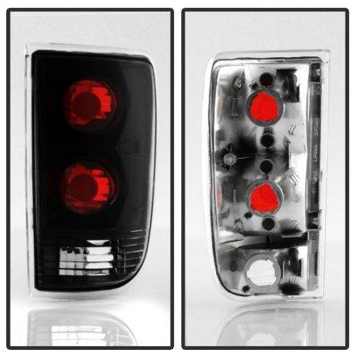 GMC Envoy 1998-2000 Black Custom Tail Lights