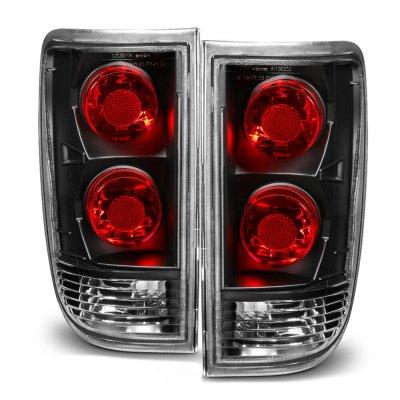 GMC Jimmy 1995-2005 Black Custom Tail Lights