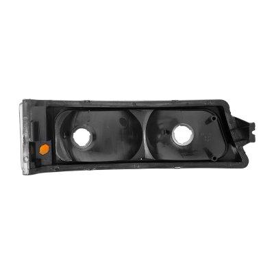 Chevy Silverado 3500 2003-2006 Black Bumper Lights