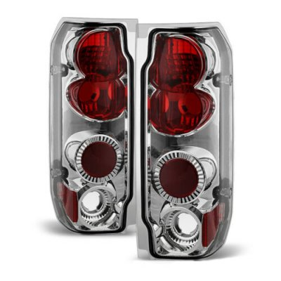 Ford F250 1987-1996 Clear Altezza Tail Lights