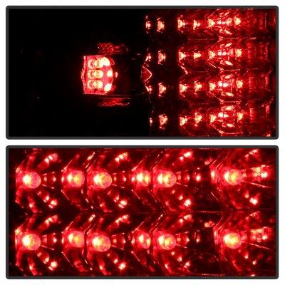 Dodge Ram 2500 1994-2002 Smoked LED Tail Lights