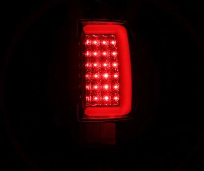 Dodge Ram 2500 2003-2006 Black Tube LED Tail Lights