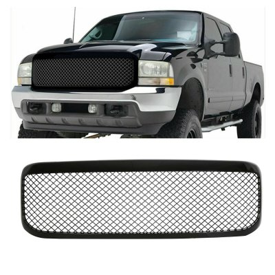 Ford F450 1999-2004 Black Mesh Grille