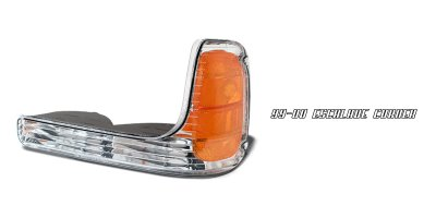 Cadillac Escalade 1999-2000 Left Driver Side Replacement Corner light