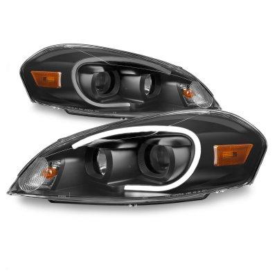 Chevy Impala 2006-2013 Black Projector Headlights