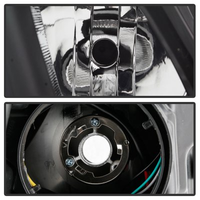 Dodge Ram 1500 2019-2021 Black Halogen Headlights
