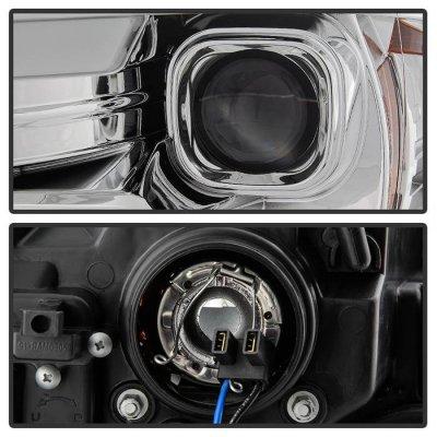 Dodge Ram 1500 2009-2018 LED Tube DRL Projector Headlights Switchback SIgnal