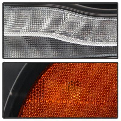 Dodge Ram 1500 2019-2021 Black Full LED Projector Headlights DRL Dynamic Signal
