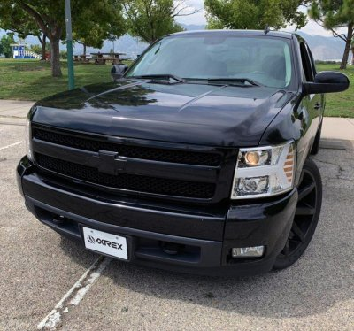 Chevy Silverado 2500HD 2007-2014 Projector Headlights LED DRL Dynamic Signal Activation