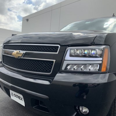 Chevy Suburban 2007-2014 LED Quad Projector Headlights DRL Dynamic Signal Activation