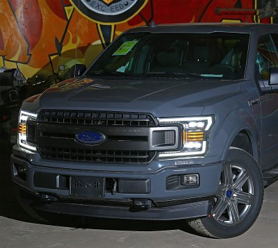Ford F150 2018-2020 LED Quad Projector Headlights DRL Dynamic Signal Activation