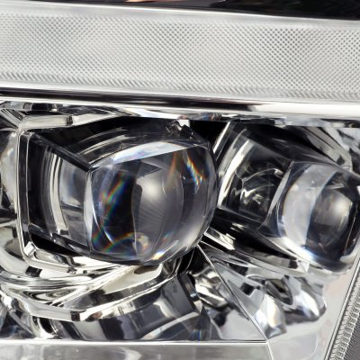 Dodge Ram 2009-2018 5th Gen LED Quad Projector Headlights DRL