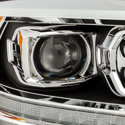 Dodge Ram 2009-2018 HD Black Projector Headlights LED DRL Dynamic Signal Activation