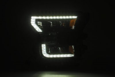 Ford F150 2015-2017 LED Quad Projector Headlights DRL Dynamic Signal Activation