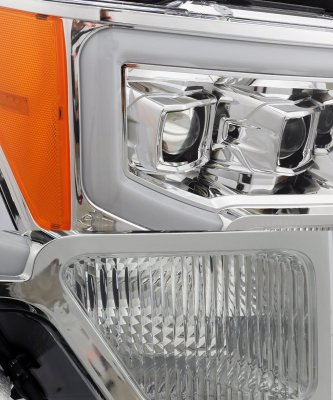 Ford F150 2009-2014 LED Projector Headlights DRL Dynamic Signal Activation