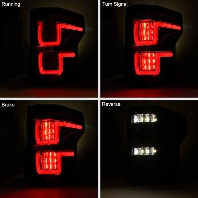 Ford F150 2015-2017 Full LED Tail Lights