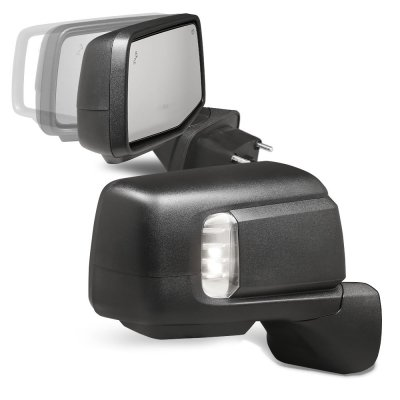 Chevy Silverado 2019-2021 Power Folding Side Mirrors LED Signal Puddle Lights