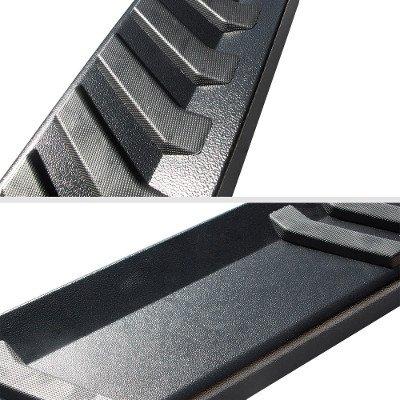 Nissan Titan King Cab 2004-2015 Black Running Boards Step Black 6 Inch