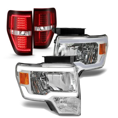 Ford F150 2009-2014 LED DRL Headlights Tail Lights