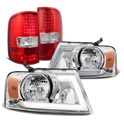Ford F150 2004-2008 Switchback DRL Headlights LED Tail Lights