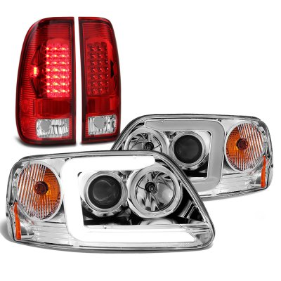 Ford F150 1997-2003 DRL Projector Headlights LED Tail Lights
