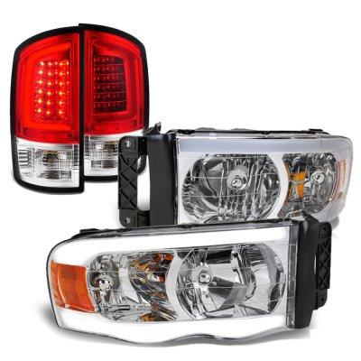 Dodge Ram 2002-2005 LED DRL Headlights Tail Lights