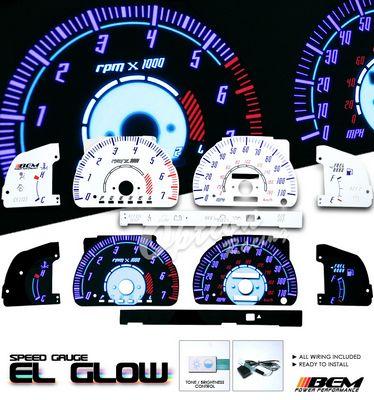 Toyota 4Runner 1996-2000 Glow Gauge Cluster Face Kit