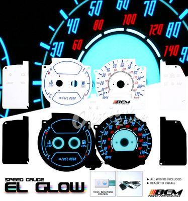 Toyota Corolla 1998-2002 Glow Gauge Cluster Face Kit