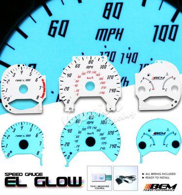 Honda Accord 1998-2002 Glow Gauge Cluster Face Kit