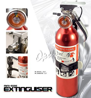 Universal Racing Safety Red Fire Extinguisher