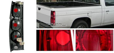 Nissan Hardbody1986-1997 Red and Smoked Tail Lights