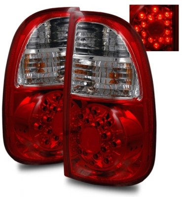 Toyota Tundra 2005 2006 Led Tail Lights Red And Clear