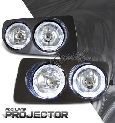 Toyota Land Cruiser 1998-2005 Halo Projector Fog Lights