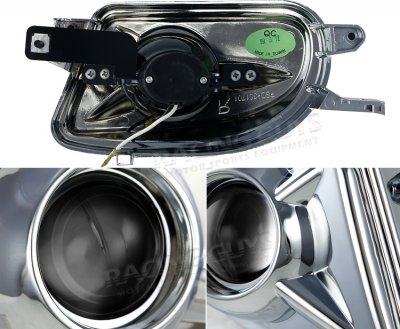 1999 Mercedes Benz SLK Chrome Projector Fog Lights