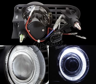 Chrysler PT Cruiser 2001-2005 Halo Projector Fog Lights